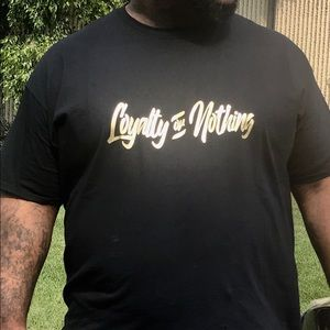 Other - Mens Loyalty or Nothing TShirt